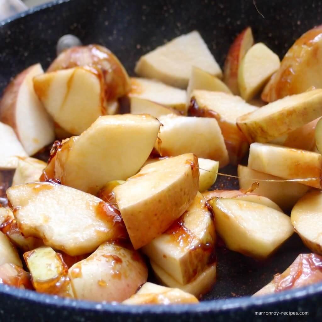 りんご&キャラメル
