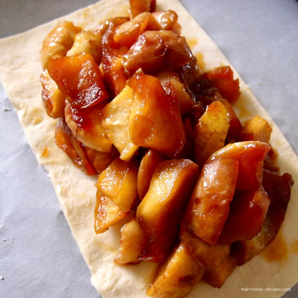 パイ&キャラメルリンゴ