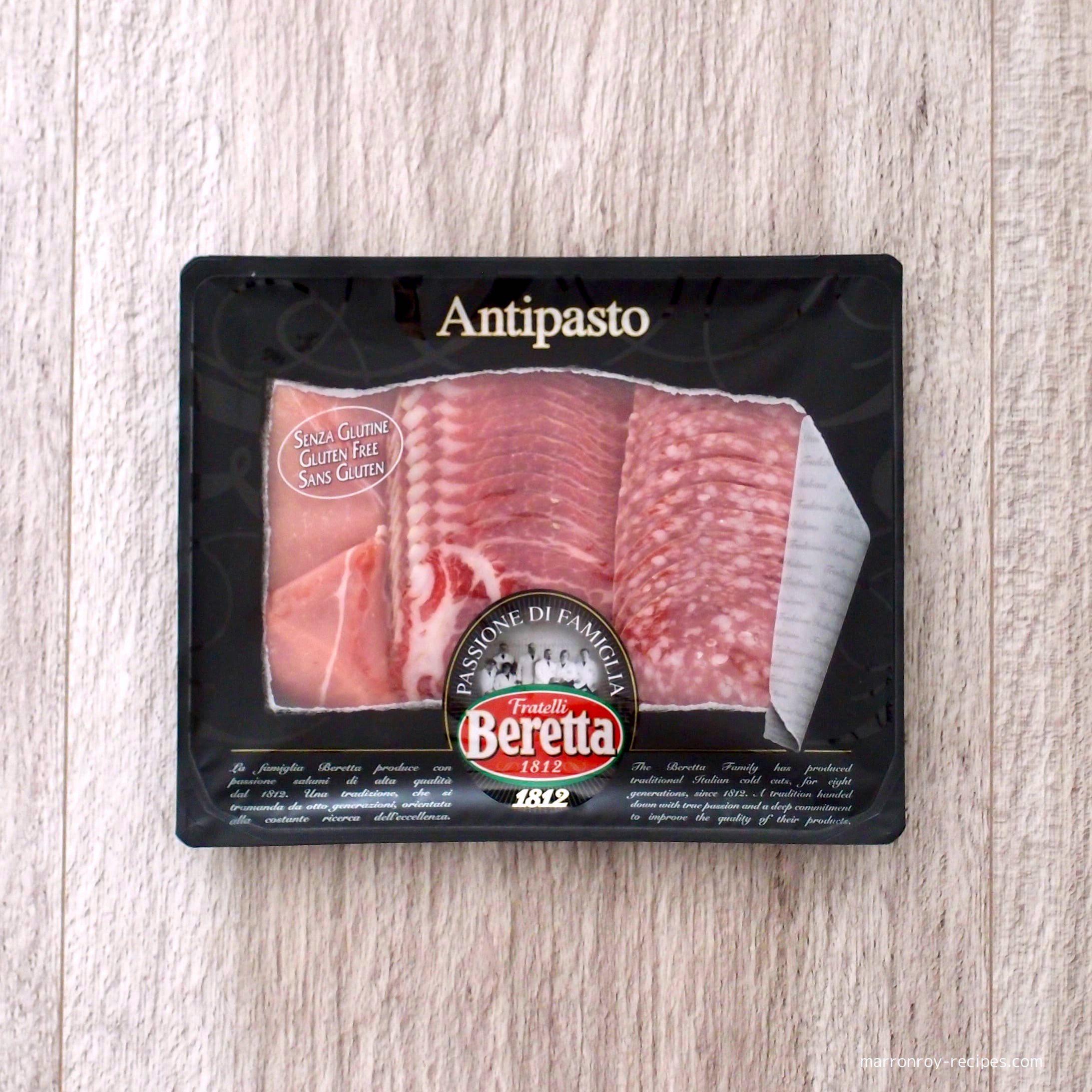 """やっぱり絶品だよー!イタリア産ベレッタの生ハム&サラミ""""アンティパスト バラエティパック"""""""