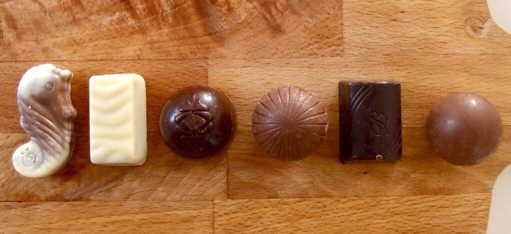 チョコの中身