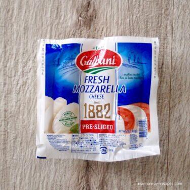 """コストコのフレッシュチーズの""""Galbani(ガルバーニ)フレッシュモッツァレラチーズ"""""""