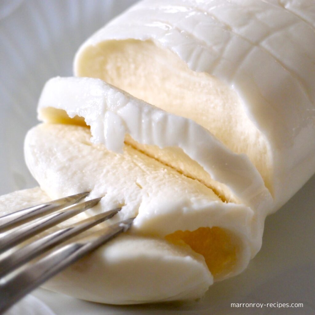 チーズスライス断面