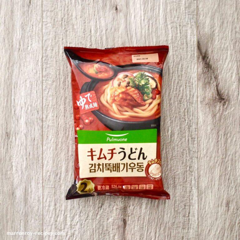 kimuchi udon
