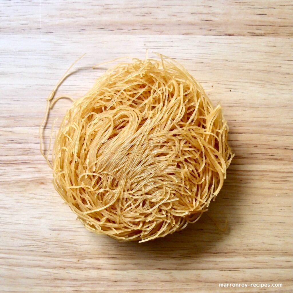 circle rice noodle