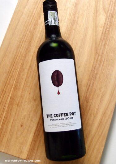 coffee pinotage