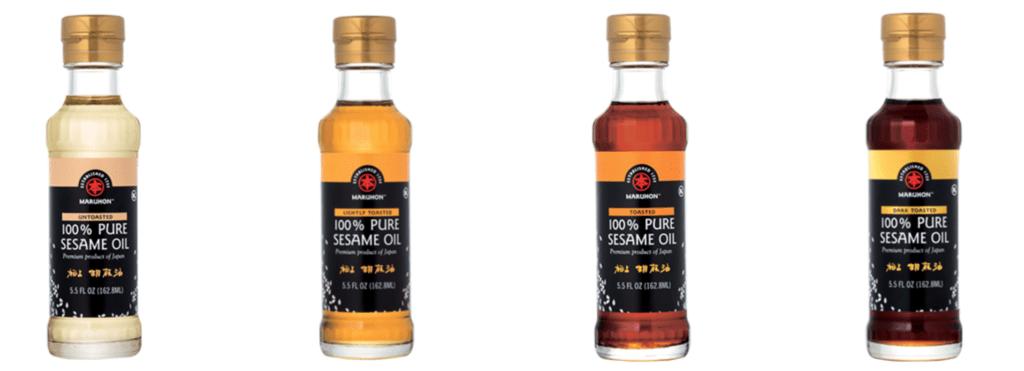 4 sesame oil