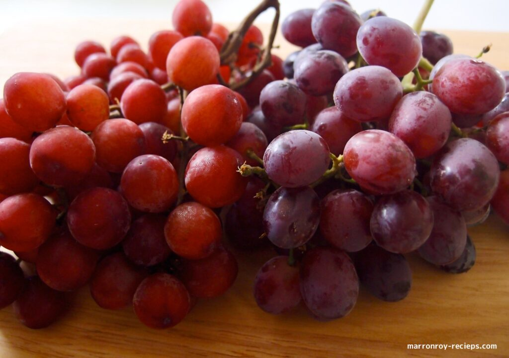 compare with grapes