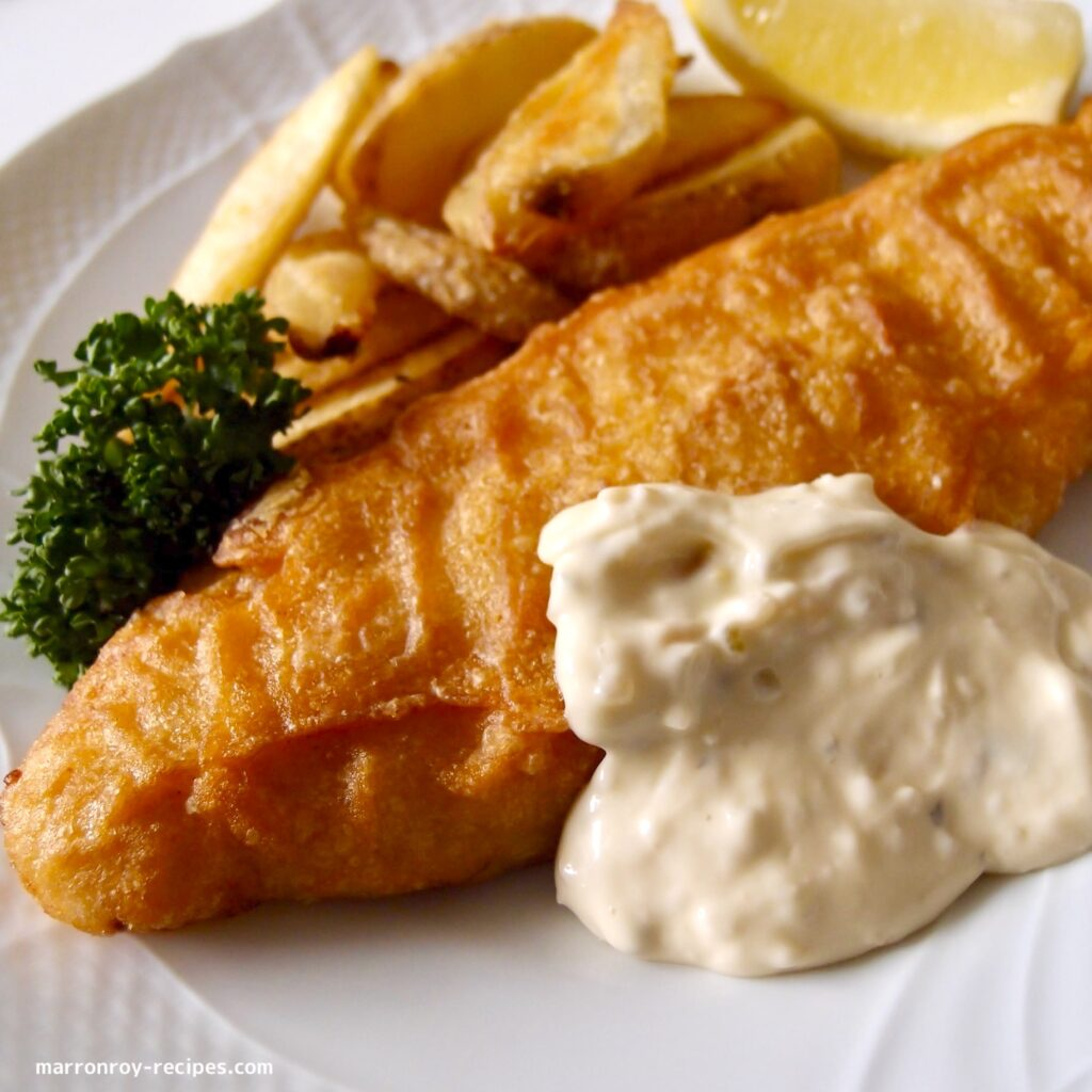 plate fish&chips