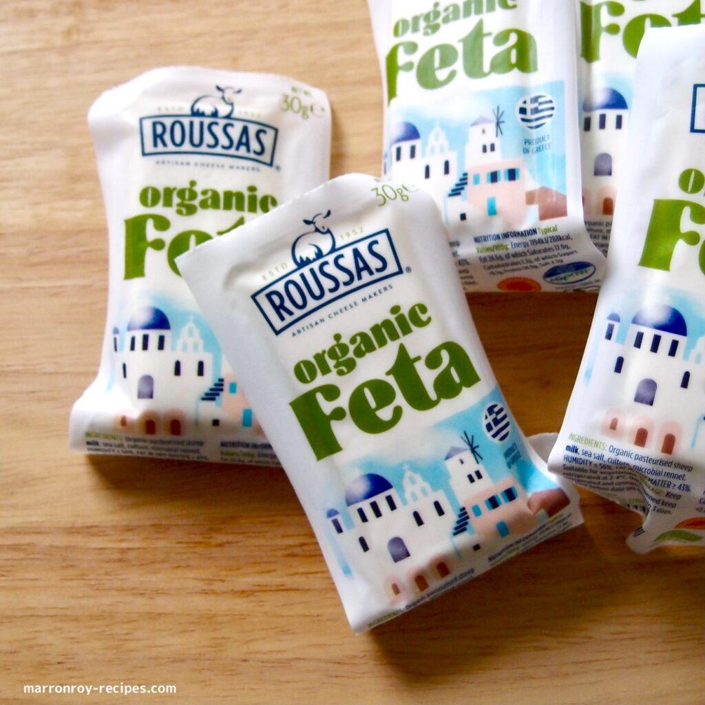 a lot of feta
