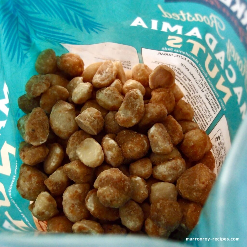 nuts in a pack