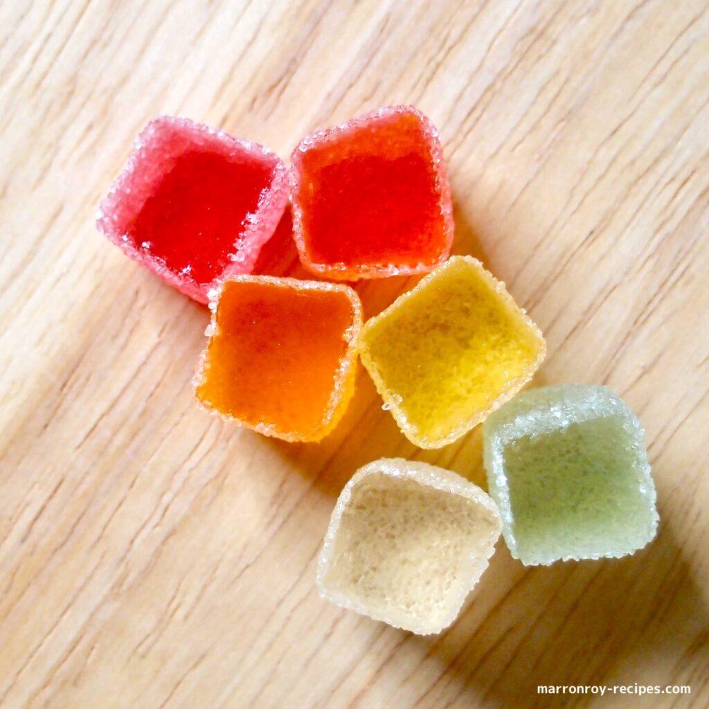 cutting jelly