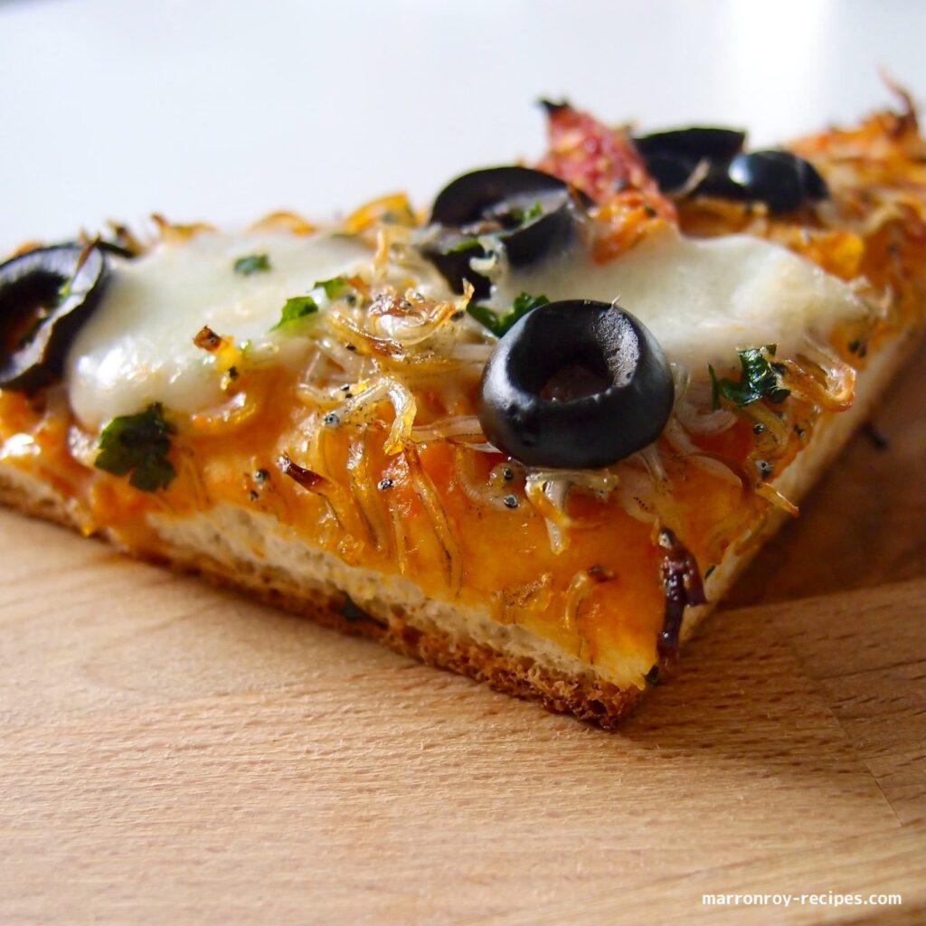 cut pizza
