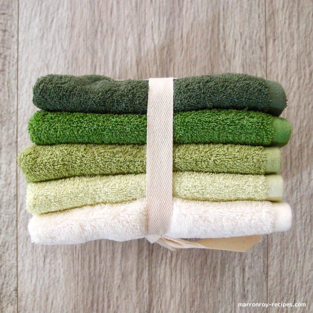 5 towels